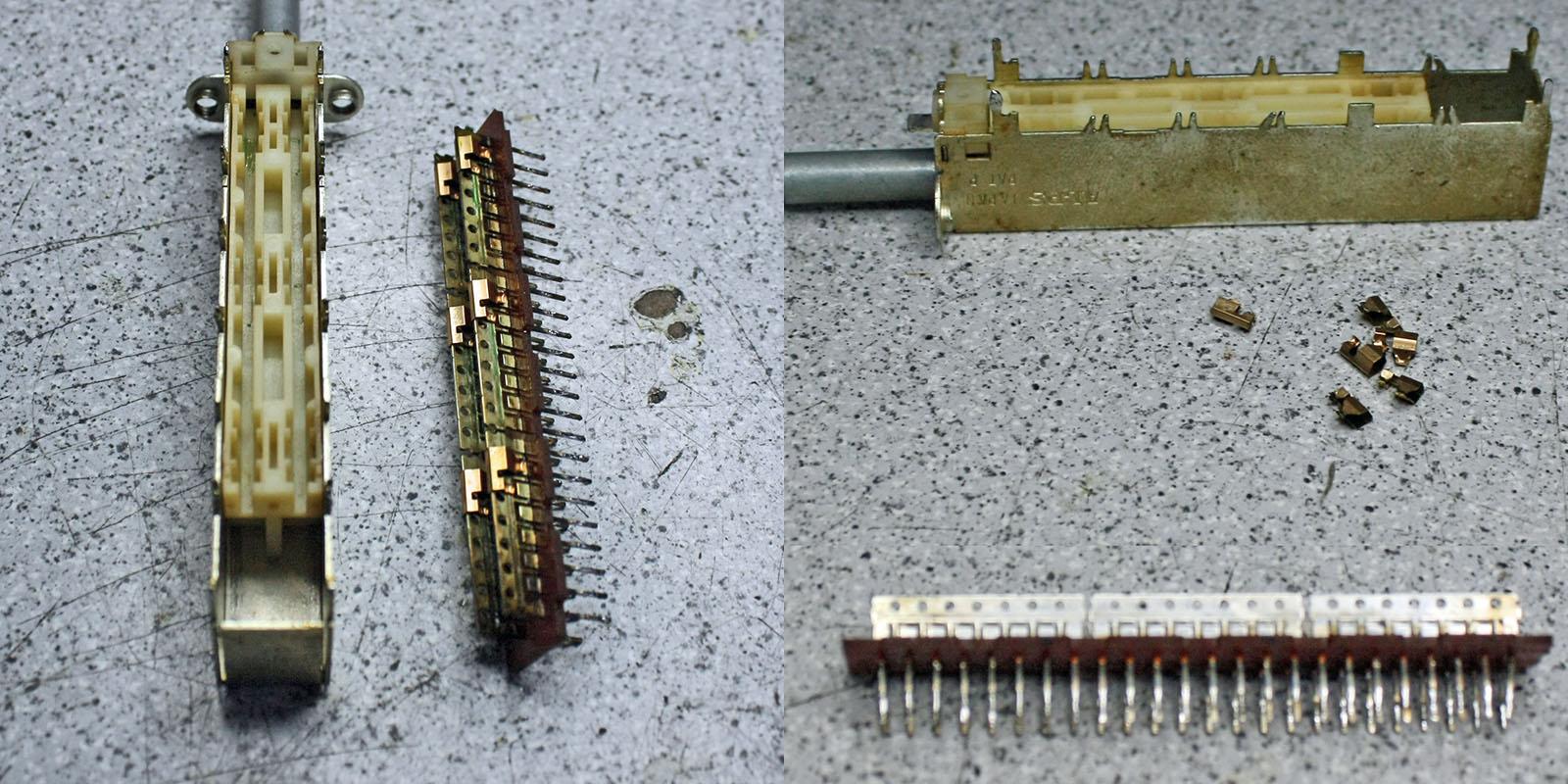Yamaha-AX-1090-Record-Schalter