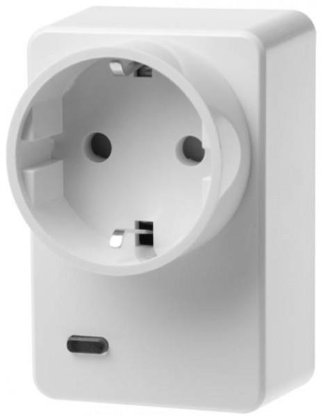 LUPUSEC Funksteckdose mit Stromzähler und ZigBee Repeater XT2+